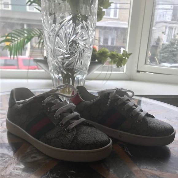 86e15d73e1f Gucci Other - Reserved Gucci Kids  New Ace Canvas Sneakers